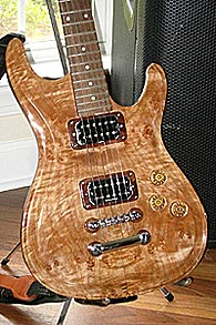 Maple Strat Solid Body Electric Guitar by Tom Evans