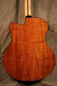 Koa Acoustic Guitar by Hemken Guitars