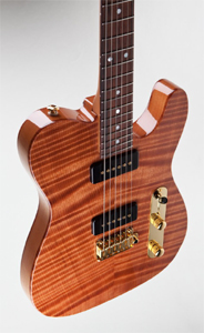 "Curly Redwood Top ""Classic T"" Solid Body Electric Guitar by Suhr Guitars Custom Shop"