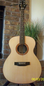 Acoustic Guitar with POC top by Praus