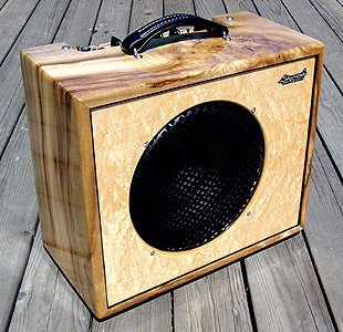 Myrtlewood Amp Case by Siegmund Guitars & Amplifiers