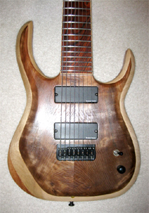 8 String Curly Redwood by Thomas Smith Guitars, USA Email