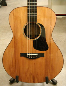 OM Guitar with Salvaged Redwood Top by Stearn Guitars  www.stearnguitars.com  USA
