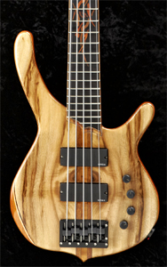 Myrtlewood 5 String Bass by Paul Gansee - USA   enggransee@aol.com