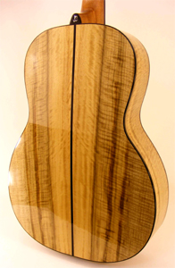Myrtlewood 000 Guitar by JC Clark Ukuleles