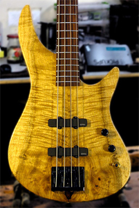 Myrtlewood Bass by Erdem Koca  www.erdemkoca.com USA