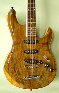 Myrtlewood Guitar by Joseph Calabrese  www.mountainroadguitars.com  USA