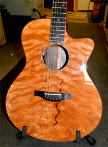 Curly Redwood top acoustic by Jesse Stearn   jesse.stearn@gmail.com