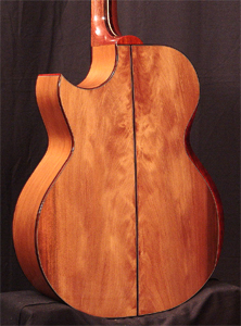 Ancient Kauri Acoustic Guitar by Bill Wise of Charis Acoustics