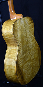 Myrtlewood Dreadnought Guitar by Charles Dick charlesa46741@yahoo.com USA