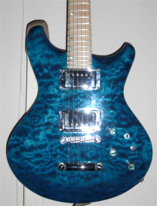 Quilted Maple Guitar by Jay Chapman USA jaychapman83@gmail.com