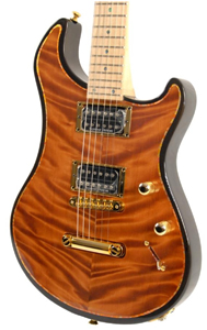 Curly Redwood top Guitar by Alsip Guitars - USA www.cralsipguitars.com