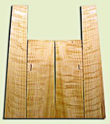 """CDAS10306 - Curly Port Orford Cedar Acoustic Guitar Back and Side Set, Medium Grain Salvaged Old Growth, Excellent Stiffness and Tap Tone, Dreadnought size.   2 panels each .16"""" x 8.25"""" x 24"""" and 2 panels each .18"""" x 6"""">5"""" x 36"""" S1S  Exceptional Luthier T"""