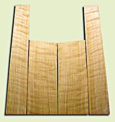 """CDAS10308 - Curly Port Orford Cedar Acoustic Guitar Back and Side Set, Medium Grain Salvaged Old Growth, Excellent Stiffness and Tap Tone, Dreadnought size.   2 panels each .18"""" x 9"""" x 24"""" and 2 panels each .18"""" x 6"""">5"""" x 36"""" S1S  Fine Luthier Tonewood"""