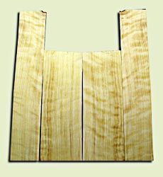 """CDAS10344 - Curly Port Orford Cedar Acoustic Guitar Back and Side Set, Medium Grain Salvaged Old Growth, Excellent Stiffness and Tap Tone, Dreadnought  size.   2 panels each .18"""" x 8.5"""" x 23.5"""" and 2 panels each .16"""" x 6"""" x 33"""" S1S   Superb Luthier Tonewo"""