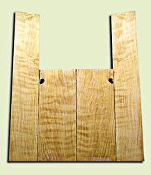 """CDAS10351 - Curly Port Orford Cedar Acoustic Guitar Back and Side Set, Medium Grain Salvaged Old Growth, Excellent Stiffness and Tap Tone, Dreadnought  size.   2 panels each .18"""" x 8.5"""" x 21.5"""" and 2 panels each .16"""" x 6"""" x 35.5"""" S1S   Fabulous Luthier To"""