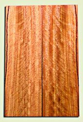 "OHES10453 - Ohia Solid Body Guitar or Bass Fat Drop Top Set, from Hawaii, Excellent Figure and Color,  Very Hard, Koa Alternative.  2 panels each  .32"" x 7.5"" x 24"" S1S   Hawaiian Tonewood"