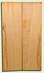 "CDES06895 - Curly Port Orford Cedar Solid Body Guitar Top Set, Good Figure, Salvaged Old Growth, Excellent Tap Tone, Strat or Bass Guitar size.  2 panels each  .18"" x 9>6.5"" x 22.5""  S1S  Rare Guitar Wood"