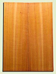 "RCSB11657 - Western Redcedar Acoustic Guitar Soundboard Set, Medium Grain Old Growth, Very Stiff, Rings Like Crystal, Dreadnought size.  2 panels each .18"" x 8.25"" x 24""  S1S  Alternative Guitar Wood"