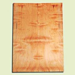 "DFES12246 - Wavy Douglas Fir Solid Body Guitar or Bass Fat Drop Top Set, Rare, 3/4 Sawn Old Growth, Superior Guitar Wood.   2 panels each  .40"" x 8"" x 22""  S1S"