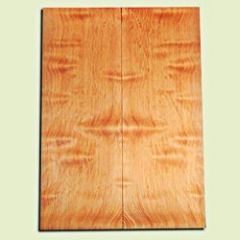 "DFES12247 - Wavy Douglas Fir Solid Body Guitar or Bass Fat Drop Top Set, Rare, 3/4 Sawn Old Growth, Superior Guitar Wood.   2 panels each  .40"" x 8"" x 22""  S1S"