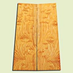 "DFES12373 - Rare Curly Douglas Fir Drop Top Set, Excellent Figure, Flat Sawn Tight Grain Old Growth, Strat size.  2 panels each  .28"" x 6.75"">6"" x 20""  S1S   Alternative Guitar Wood"
