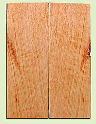 "CDES13473 - Port Orford Cedar, Solid Body Guitar or Bass Drop Top Set, Salvaged Old Growth, Excellent Color With Med Curl, Highly Resonant Guitar Wood, Adds Great Tonal Quality , 2 panels each 0.24"" x 8"" X 22"", S1S"