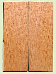 "CDES13474 - Port Orford Cedar, Solid Body Guitar or Bass Drop Top Set, Salvaged Old Growth, Excellent Color With Med Curl, Highly Resonant Guitar Wood, Adds Great Tonal Quality , 2 panels each 0.24"" x 8"" X 22"", S1S"