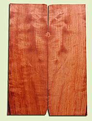 "RWES14520 - Curly Redwood, Solid Body Guitar or Bass Fat Drop Top Set, Very Fine Grain Salvaged Old Growth, Excellent Color & Medium Curl, Highly Resonant Guitar Tonewood, Visually Stunning, 2 panels each 0.4"" x 7.8"" X 22"", S1S"
