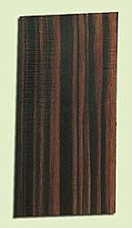 "EBHS15043 - Macassar Ebony, Guitar Head Plate, Hi Color Contrast, Rare Tonewood, Adds Pizzazz, Multiples Available, 1 panels each 0.15"" x 4"" X 8"""