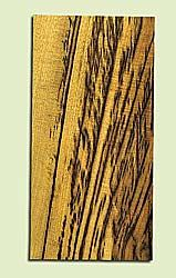 "MYHS15046 - Tiger Stripe Myrtlewood, Guitar Head Plate, Salvaged Old Growth, Amazing Color, Adds Pizzazz, Multiples Available, 1 panels each 0.2"" x 4"" X 8"""