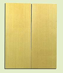"YCSB15473 - Alaska Yellow Cedar ,Acoustic Guitar ArchTop Soundboard Set, Extremely Fine Grain Salvaged Old Growth, Excellent Color, Amazing Guitar Tonewood, 2 panels each 0.85"" x 8.5"" X 22"", S1S"