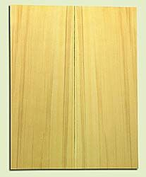 "YCSB15479 - Alaska Yellow Cedar ,Acoustic Guitar ArchTop Soundboard Set, Extremely Fine Grain Salvaged Old Growth, Excellent Color, Amazing Guitar Tonewood, 2 panels each 0.875"" x 8.5"" X 22"", S1S"
