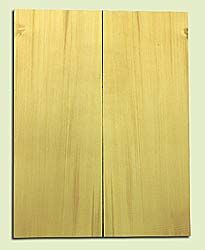 "YCSB15481 - Alaska Yellow Cedar ,Acoustic Guitar ArchTop Soundboard Set, Extremely Fine Grain Salvaged Old Growth, Excellent Color, Amazing Guitar Tonewood, 2 panels each 0.875"" x 8.5"" X 22"", S1S"