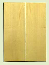 "YCSB15487 - Alaska Yellow Cedar ,Acoustic Guitar ArchTop Soundboard Set, Extremely Fine Grain Salvaged Old Growth, Excellent Color, Amazing Guitar Tonewood, 2 panels each 0.9"" x 8"" X 22"", S1S"