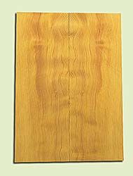 "DFES15904 - Wavy Douglas fir, Solid Body Guitar or Bass Drop Top Set, Salvaged Old Growth, Amazing Tap Tone, Great Guitar Tonewood, , 2 panels each 0.25"" x 8"" X 22"", S1S"