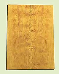 "DFES15905 - Wavy Douglas fir, Solid Body Guitar or Bass Drop Top Set, Salvaged Old Growth, Amazing Tap Tone, Great Guitar Tonewood, , 2 panels each 0.25"" x 8"" X 22"", S1S"
