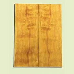 "DFES15908 - Wavy Douglas fir, Solid Body Guitar or Bass Drop Top Set, Salvaged Old Growth, Amazing Tap Tone, Great Guitar Tonewood, , 2 panels each 0.3"" x 8"" X 21.5"", S1S"
