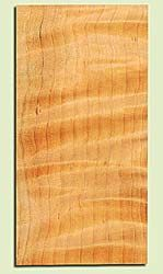 "CDHS16863 - Curly Port Orford Cedar, Guitar Headstock Plate, Air Dried, Excellent Colors & Curl, Adds Pazzazz, Multiples Available, each 0.15"" x 4"" X 8"""