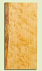 "MAHS16876 - Birds Eye Rock Maple, Guitar Headstock Plate, Air Dried, Veru Good Color & Birds Eye, Adds Pazzazz, Multiples Available, each 0.15"" x 3.5"" X 7"""
