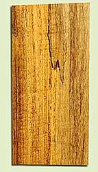 "MYHS16877 - Figured, Spalted Myrtlewood, Guitar Headstock Plate, Air Dried, Veru Good Color & Spalt, Adds Pazzazz, Multiples Available, each 0.15"" x 3.5"" X 7"""