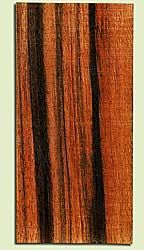 "EBHS16881 - Macassar Ebony, Guitar Headstock Plate, Air Dried, Light Striped, Adds Pazzazz, Multiples Available, each 0.15"" x 3.5"" X 7"""