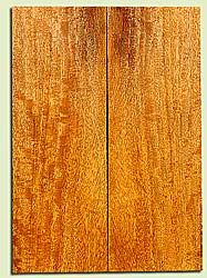 """MGES17218 - Mango, Solid Body Guitar or Bass Drop Top Set, Good Curl, Urban Salvage, Air Dried for Excellent Colors, Eco-FriendlyLuthier Tonewood, 2 panels each 0.2"""" x 7.25"""" x 20.75"""", S1S"""