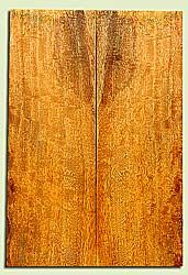 """MGES17220 - Mango, Solid Body Guitar or Bass Drop Top Set, Very Good Curl, Urban Salvage, Air Dried for Excellent Colors, Eco-FriendlyLuthier Tonewood, 2 panels each 0.22"""" x 7.5"""" x 22"""", S1S"""