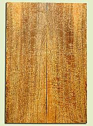 """MGES17227 - Mango, Solid Body Guitar or Bass Drop Top Set, Excellect Curl, Urban Salvage, Air Dried for Excellent Colors, Eco-FriendlyLuthier Tonewood, 2 panels each 0.25"""" x 7.5"""" x 22"""", S1S"""