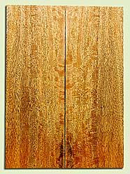 """MGES17228 - Mango, Solid Body Guitar or Bass Drop Top Set, Excellect Curl, Urban Salvage, Air Dried for Excellent Colors, Eco-FriendlyLuthier Tonewood, 2 panels each 0.24"""" x 7.5"""" x 21"""", S1S"""