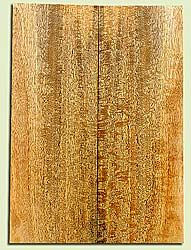 """MGES17233 - Mango, Solid Body Guitar or Bass Drop Top Set, Excellect Curl, Urban Salvage, Air Dried for Excellent Colors, Eco-FriendlyLuthier Tonewood, 2 panels each 0.24"""" x 8"""" x 22.25"""", S1S"""