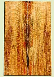 """MGES17241 - Mango, Solid Body Guitar or Bass Drop Top Set, Very Good Curl, Urban Salvage, Air Dried for Excellent Colors, Eco-FriendlyLuthier Tonewood, 2 panels each 0.25"""" x 6.75"""" x 22"""", S1S"""