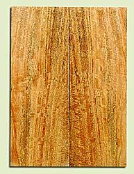 """MGES17253 - Mango, Solid Body Guitar or Bass Drop Top Set, Excellent Curl, Urban Salvage, Air Dried for Excellent Colors, Eco-FriendlyLuthier Tonewood, 2 panels each 0.25"""" x 7.5"""" x 21"""", S1S"""