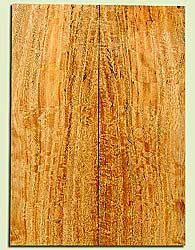 """MGES17255 - Mango, Solid Body Guitar or Bass Drop Top Set, Excellent Curl, Urban Salvage, Air Dried for Excellent Colors, Eco-FriendlyLuthier Tonewood, 2 panels each 0.25"""" x 7.5"""" x 21"""", S1S"""